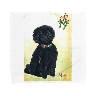 Hughのクリスマス Towel handkerchiefs