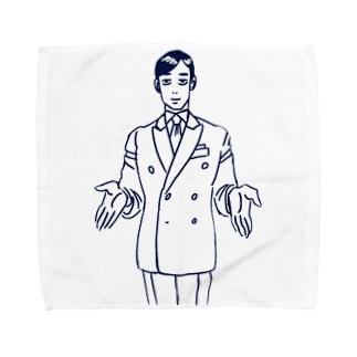 太陽崇拝おじさん Towel handkerchiefs