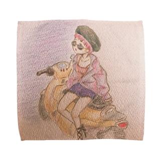 ディスイズ♡マイバイク Towel handkerchiefs