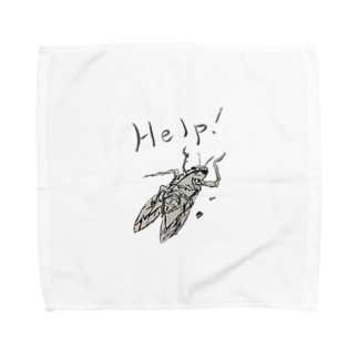 Hoshino Asato.の助けてちょ Towel handkerchiefs