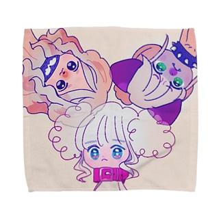 [duman]ぷぱぷ Towel handkerchiefs