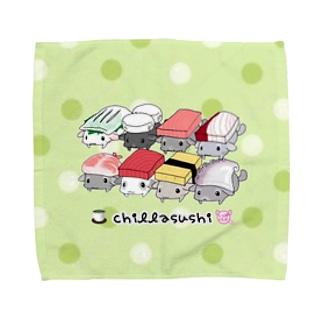 【L専用】チラ寿司 Towel handkerchiefs
