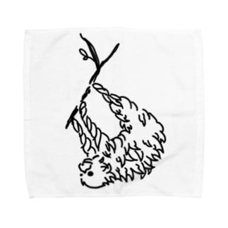 ナマケモノ Towel handkerchiefs