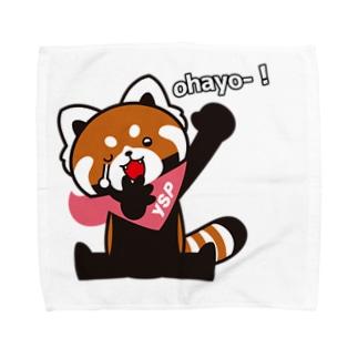 YSパンダオハヨー! Towel handkerchiefs