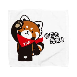 YSパンダ・今日も元気 Towel handkerchiefs