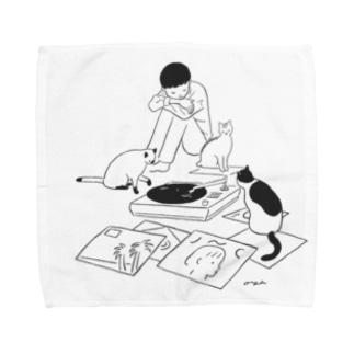 6時の集会 Towel handkerchiefs