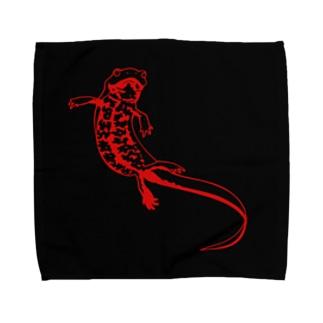 エンジョイモリ Towel handkerchiefs
