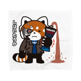 YSパンダ・サイボーグ Towel handkerchiefs