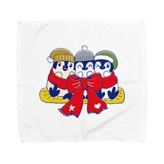 りぼんぺんぎん Towel handkerchiefs