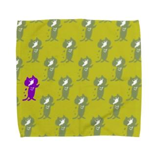 ゾンビにゃんこ! Towel handkerchiefs
