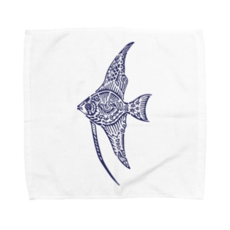 天使魚 Towel handkerchiefs