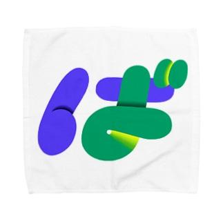 ば Towel handkerchiefs