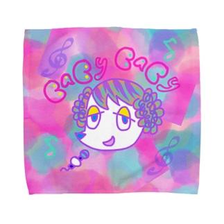 峯犬POP4 Towel handkerchiefs