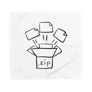 るりんごむのじっぷふぁいる Towel handkerchiefs