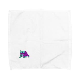 ねこです Towel handkerchiefs