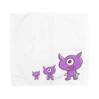疲れ目メンメン祭り Towel handkerchiefs