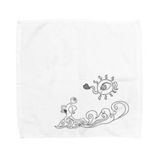 北風と太陽 Towel handkerchiefs