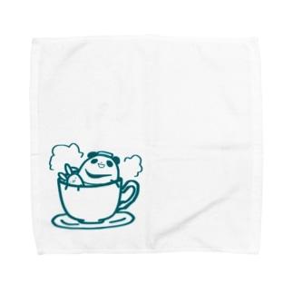 まるコロうさぱんシリーズ[4] Towel handkerchiefs