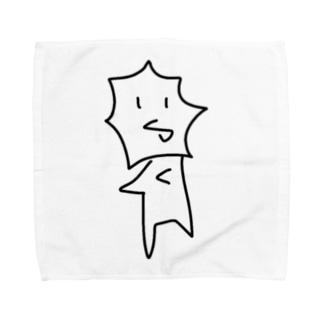 えりまきちゃん Towel handkerchiefs