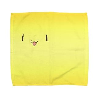 ひらたい神皿 Towel handkerchiefs