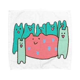 カコマレーズ Towel handkerchiefs