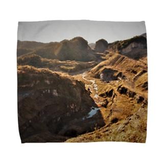 白狐峠の秘密 Towel handkerchiefs