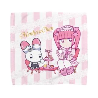 お茶会 Towel Handkerchief