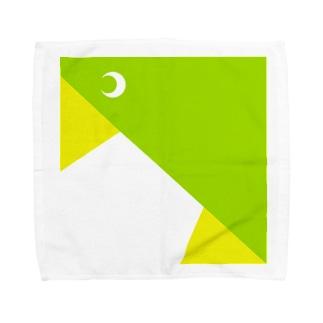 メジロ Towel handkerchiefs