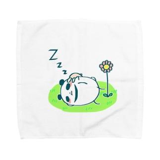 まるコロうさぱんシリーズ[5] Towel handkerchiefs