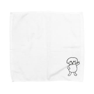 それな!ムクわんこ Towel handkerchiefs