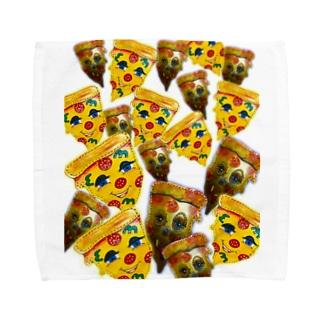 ペパロニピザ Towel handkerchiefs