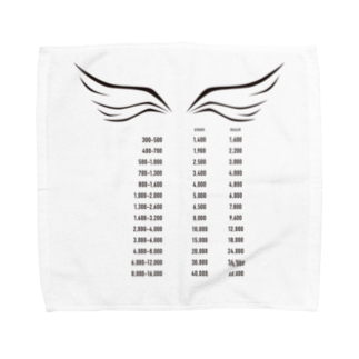 wlmのPOINTS WING Towel handkerchiefs