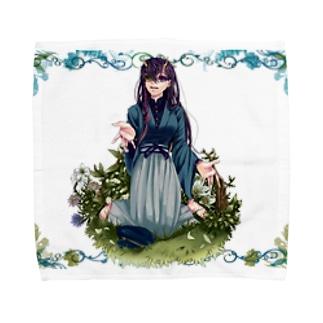 雨ト鬼 Towel handkerchiefs