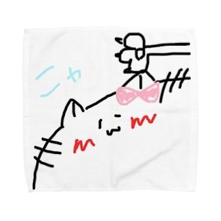 ニャ Towel handkerchiefs