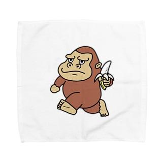 ゴリラのウホホイ Towel handkerchiefs