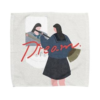 清掃時間に夢をみていた Towel handkerchiefs