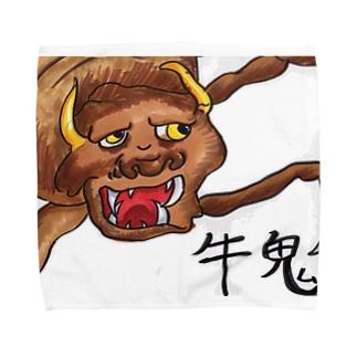 牛鬼T Towel handkerchiefs