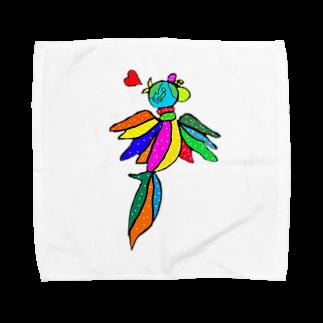 Matt blackは人生改革企み中の世界を跨ぐ鳥 Towel handkerchiefs
