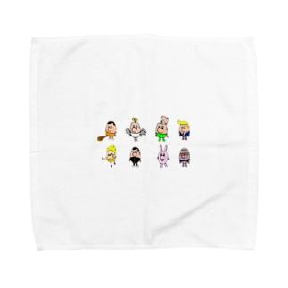 少し集合 Towel handkerchiefs