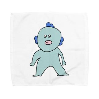 ま Towel handkerchiefs