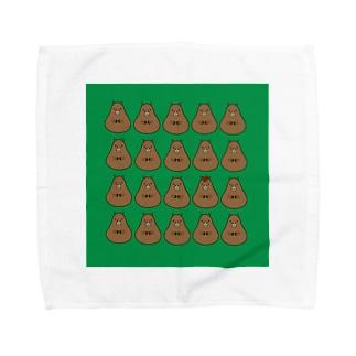 カピバラハンカチ Sサイズ Towel handkerchiefs