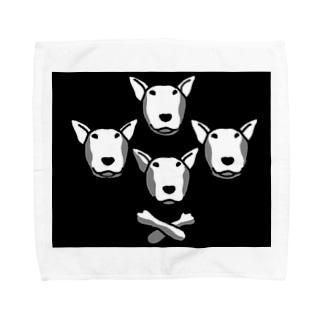 BullTerrier Queen風 Towel handkerchiefs