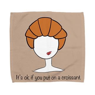 クロワッサン被ったっていいじゃないか。 Towel handkerchiefs