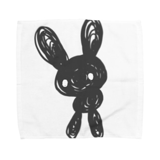 黒兎 Towel handkerchiefs