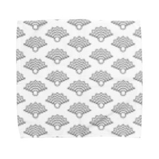 NIMAFUKU (Pattern - White) Towel handkerchiefs