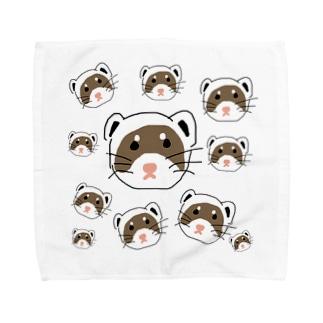 イーティー Towel handkerchiefs