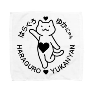 はらぐろ♥ゆかにゃん Towel handkerchiefs