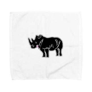 サイコウくん Towel handkerchiefs