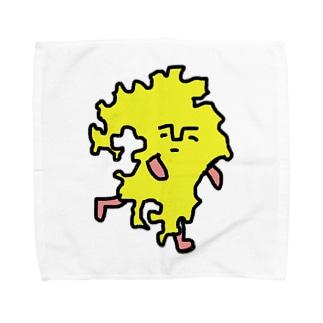 クスオくん(九州男) Towel handkerchiefs