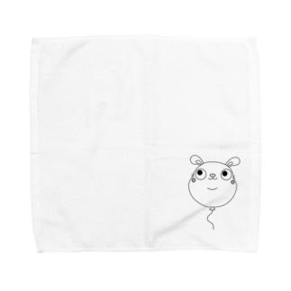 にじゅうあごうさぎ Towel handkerchiefs